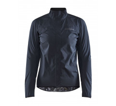 Craft Fietsjack Waterdicht Dames Zwart - EMPIRE RAIN JKT W BLACK