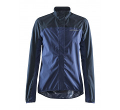 Craft Wind- en Regenjack Dames Zwart Blauw - EMPIRE RAIN JKT W BLACK/BLAZE