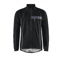 Craft Wind- en Regenjack Heren Zwart  - SURGE RAIN JKT M BLACK