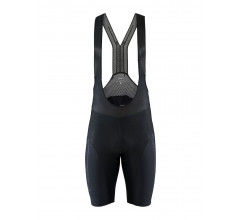 Craft Fietsbroek met Bretels Kort Heren Zwart  - SURGE LUMEN BIB SHORTS M BLACK/BLACK
