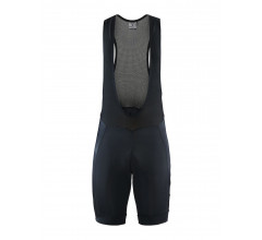 Craft Fietsbroek met Bretels Kort Heren Zwart  - ADOPT BIB SHORTS M BLACK