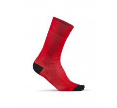 Craft Fietssokken Zomer Unisex Rood Wit - TRAINING PACK SOCK BRIGHT RED/WHITE