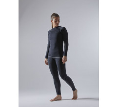 Craft Ondershirt Lange Mouwen Dames Zwart - ADV WARM FUSEKNIT INTENSITY LS W BLACK