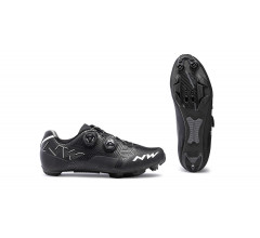 Northwave Race fietsschoenen Dames Zwart Wit /  REBEL WOMAN BLACK/WHITE