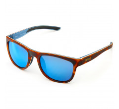 Briko Casual zonnebril unisex Bruin - Vortex Mirror Color HD Sunglasses Mt Havan Dk Bl -Kbm3