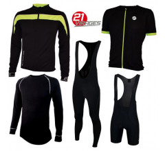 21virages Verona all season set zwart fluo