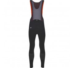 Santini Fietsbroek lang met bretels Zwart Heren - Nuhot Bib-Tights Black