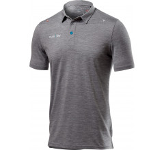 Castelli Casual polo shirt Heren Grijs  - CA SKY Tech Pro Polo-Light Grey Melange