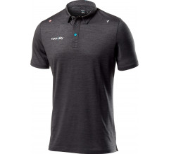 Castelli Casual polo shirt Heren Grijs  - CA SKY Tech Pro Polo-Dark Grey Melange