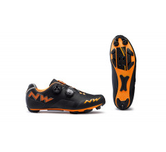 Northwave MTB fietsschoenen Heren Zwart Oranje /  REBEL BLACK/ORANGE