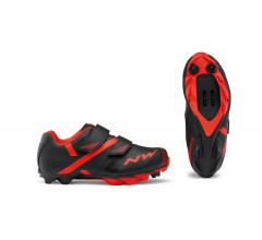 Northwave Fietsschoenen MTB Kids Zwart Rood - Hammer 2 Junior Black Red