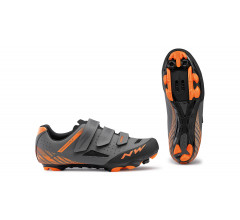 Northwave MTB fietsschoenen Heren Grijs Oranje /  ORIGIN ANTHRACITE/ ORANGE