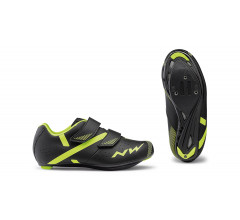 Northwave Fietsschoenen Kids Zwart Fluo /  TORPEDO 2 JUNIOR BLACK/YELLOW FLUO