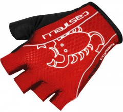 CASTELLI Rosso Corsa Classic Glove / Fietshandschoen Rood