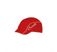 CASTELLI Summer W Cycling cap / Fietsmuts Rood Wit onesize