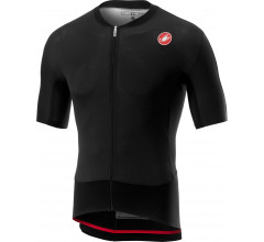 Castelli Fietsshirt korte mouwen Heren Zwart  - CA RS Superleggera Jersey-Light Black