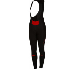 Castelli Fietsbroek lang Dames Zwart Rood / CA Chic Bibtight Black/Red