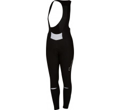 Castelli Fietsbroek lang Dames Zwart Wit / CA Chic Bibtight Black/White
