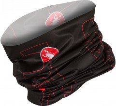 Castelli Bandana Heren Zwart Rood / CA LW Head Thingy Black/Red