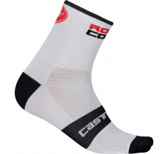 Castelli Fietssokken winter Heren Wit  / CA Rossocorsa 13 Sock White