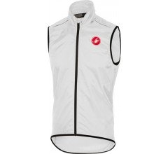 CASTELLI Squadra long Vest / Windstopper Wit
