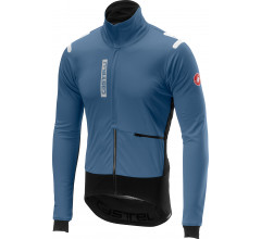 Castelli Fietsjack Heren Blauw Wit / CA Alpha Ros Jacket Moonlight/Blue/Black