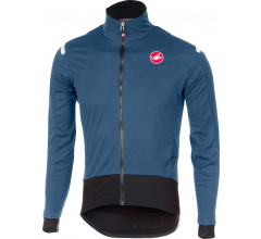 Castelli Fietsjack Heren Blauw Zwart / CA Alpha Ros Light Jacket Moonlight/Blue/Black