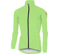 Castelli Fietsjack waterdicht Dames Fluo  / CA Emergency W Jacket Yellow Fluo