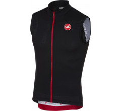 Castelli Fietsshirt Heren Zwart / CA Entrata 3 Sleeveless FZ Light Black