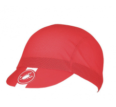 Castelli Koerspetje Heren Rood  - CA A/C Cycling Cap-Red