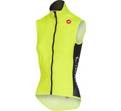 Castelli Windstopper Dames Fluo / CA Pro Light W Wind Vest Yellow Fluo