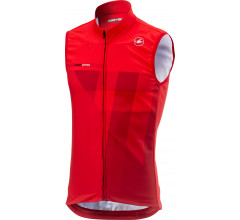 Castelli Windstopper Heren Rood  / CA Thermal Pro Vest Red