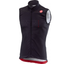 Castelli Windstopper Heren Zwart  / CA Thermal Pro Vest Light Black