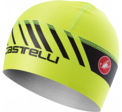 Castelli Helmmuts Heren Fluo  / CA Arrivo 3 Thermo Skully Yellow Fluo