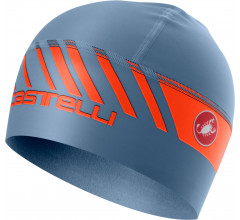 Castelli Helmmuts voor Heren Blauw Oranje / CA Arrivo 3 Thermo Skully L Steel Blue/Orange
