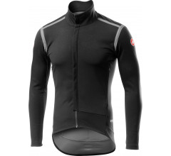 Castelli Fietsjack lange mouwen Rain Or Shine voor Heren Zwart  / CA Perfetto Ros Long Sleeve Light Black