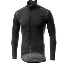 Castelli Fietsjack lange mouwen Rain Or Shine voor Heren Zwart Reflective / CA Perfetto Ros Long Sleeve Light Black/Reflex