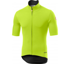 Castelli Fietsjack korte mouwen Rain Or Shine voor Heren Fluo  / CA Perfetto Ros Light Yellow Fluo