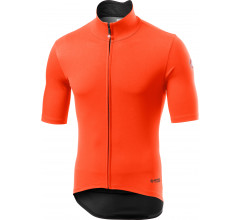 Castelli Fietsjack korte mouwen Rain Or Shine voor Heren Oranje  / CA Perfetto Ros Light Orange
