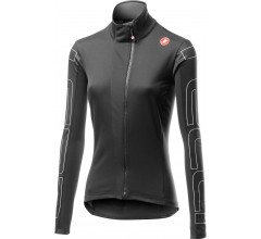 Castelli Fietsjack lange mouwen voor Dames Zwart Ivoor / CA Transition W Jacket Light Black/Ivory