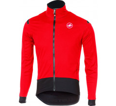 Castelli Fietsjack Heren Rood Zwart / CA Alpha Ros Light Jacket Red/Black