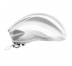 GripGrab Helmhoes Unisex Wit - BugShield Helmet Cover White