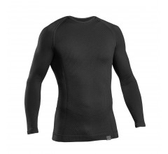 GripGrab Ondershirt Lange Mouwen Unisex Zwart - Expert Seamless Thermal Base Layer LS Black