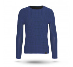 GripGrab Ondershirt lange mouwen Unisex Blauw / Freedom Seamless Thermal Base Layer LS