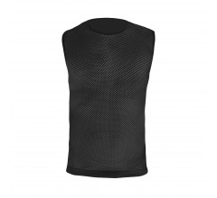 GripGrab Ondershirt mouwloos Unisex Zwart / 3-Season Sleeveless Base Layer