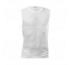 GripGrab Ondershirt mouwloos Unisex Wit / Ultralight Sleeveless Mesh Baselayer