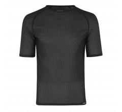 GripGrab Ondershirt Korte Mouwen Unisex Zwart - Ultralight Mesh Short Sleeve Base Layer Black