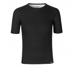 GripGrab Ondershirt Korte Mouwen Tussenseizoen Unisex Zwart - Ride Thermal Short Sleeve Base Layer Black