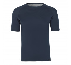 GripGrab Ondershirt Korte Mouwen Tussenseizoen Unisex Blauw - Ride Thermal Short Sleeve Base Layer Navy