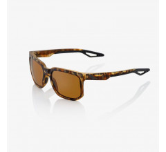 100% Casual Zonnebril / Centric Peakpolar Lens  Soft Tact Havana